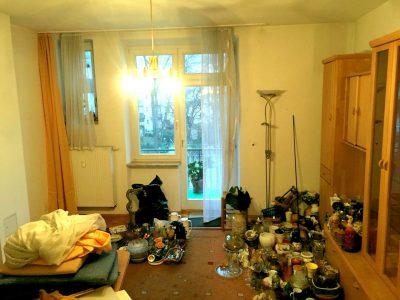 Wohnungsräumung in München Schwabing - 2018