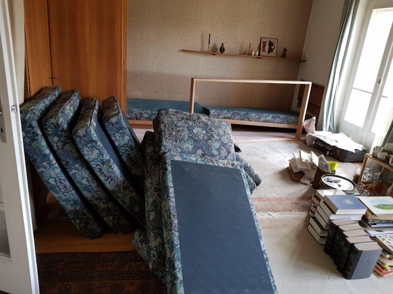 Entrümrelung Haus Großhadern in München März 2018