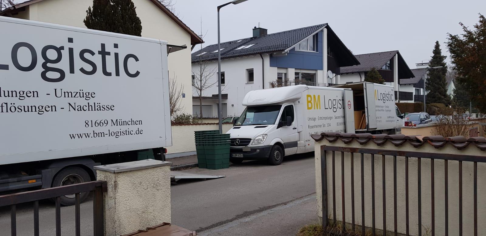 Entrümpelung München Bogenhausen Januar 2020