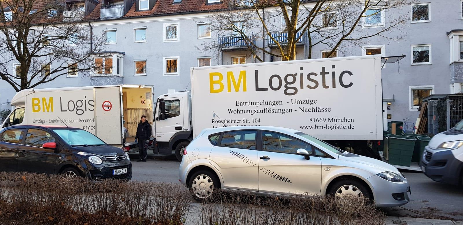 Entrümpelung München Obermenzing Januar 2020