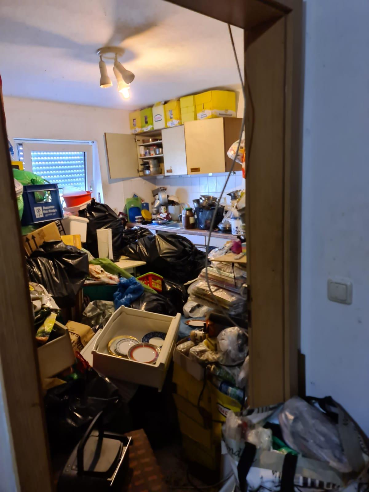 Messie Wohnung Entrümpelung München