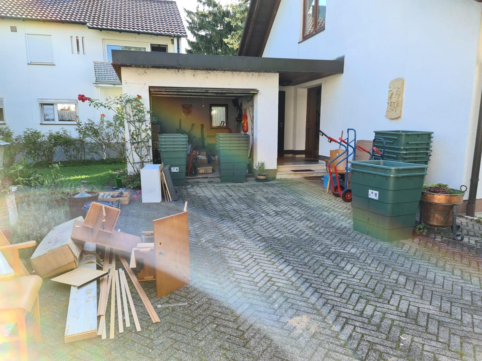 Entruempelung in Freising 1