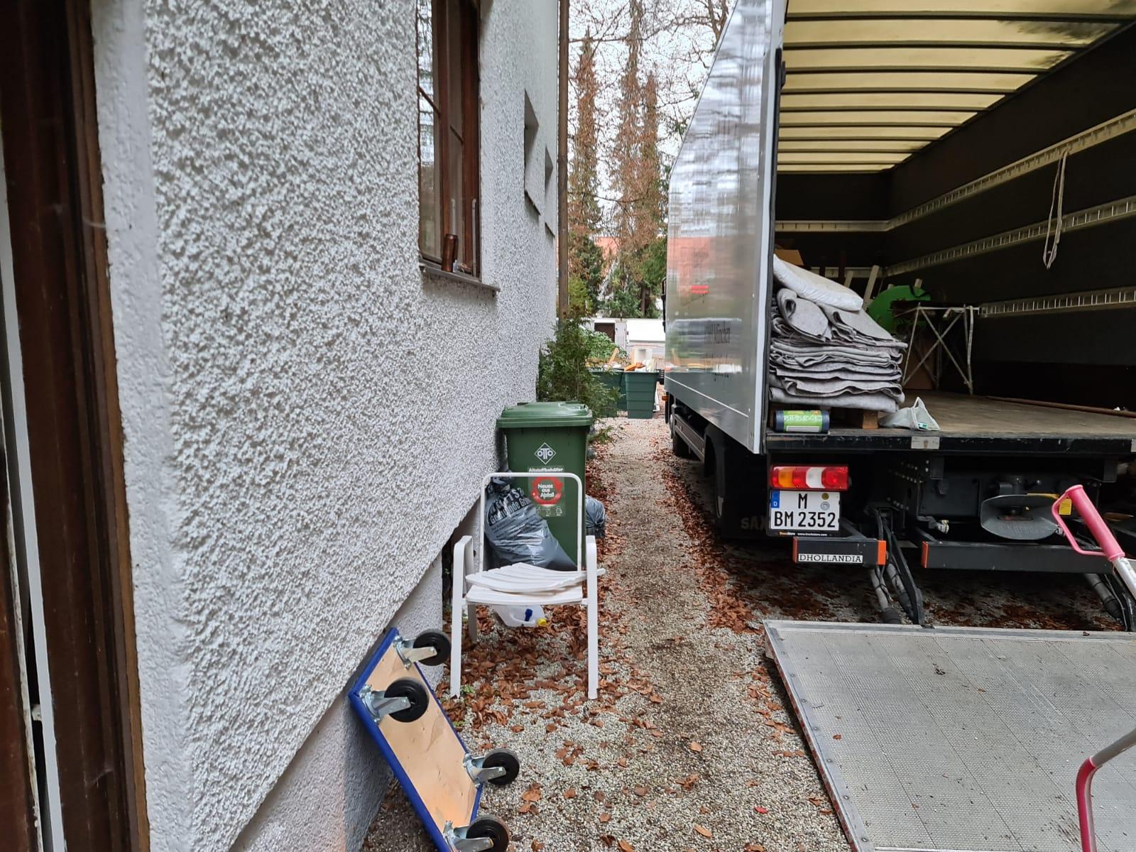 Hausauflösung Kellerauflösung im Grünwald München